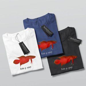 Camisetas de Hombre Betta apiapi
