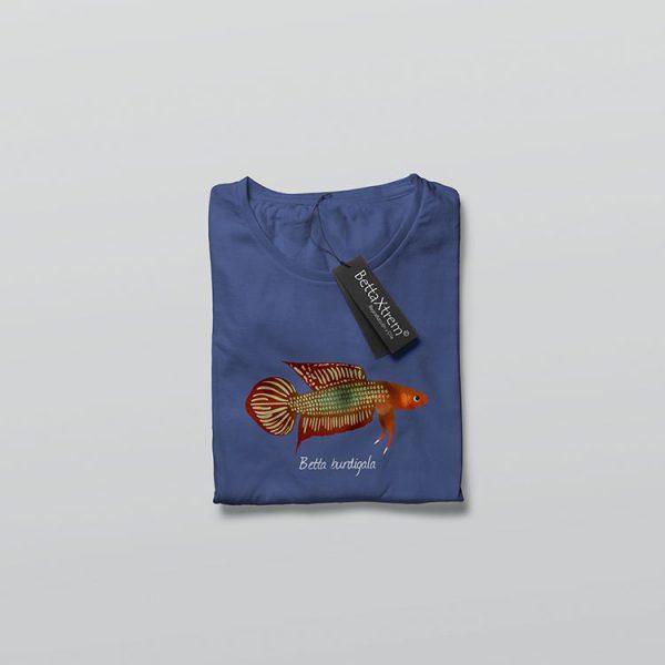 Camiseta de Hombre Azul Betta burdigala