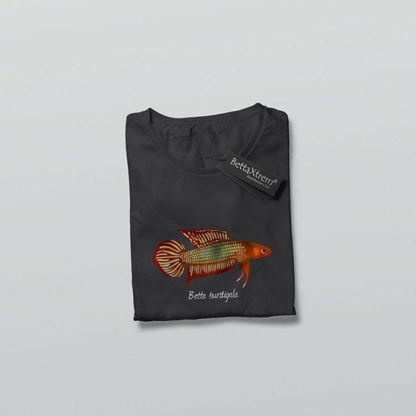 Camiseta de Hombre Negra Betta burdigala
