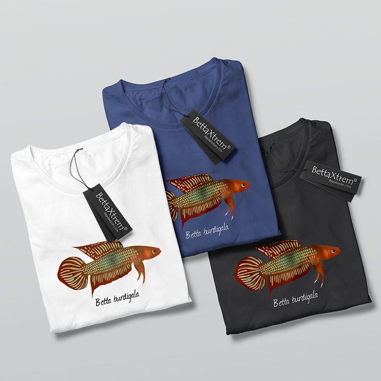 Camisetas de Hombre Betta burdigala