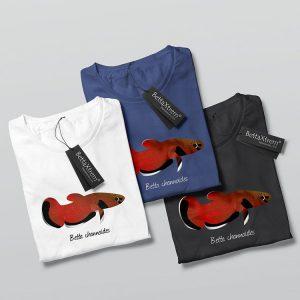 Camisetas de Hombre Betta channoides