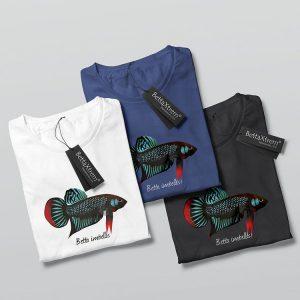 Camisetas de Hombre Betta imbellis