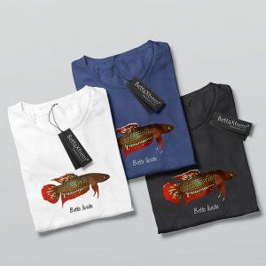 Camisetas de Hombre Betta livida