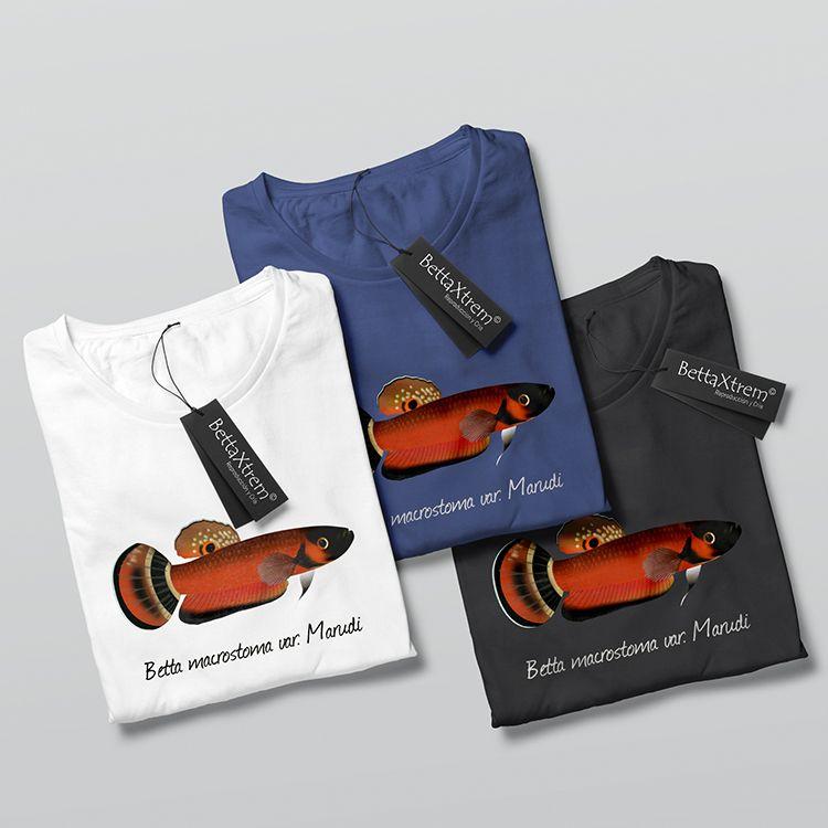 Camisetas de Hombre Betta macrostoma