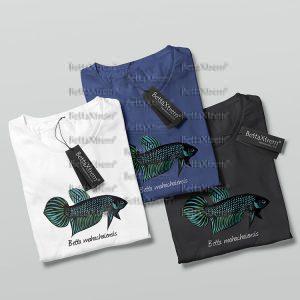 Camisetas de Hombre Betta mahachaiensis