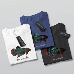 Camisetas de Hombre Betta siamorientalis