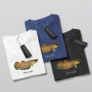 Camisetas de Hombre Betta simplex