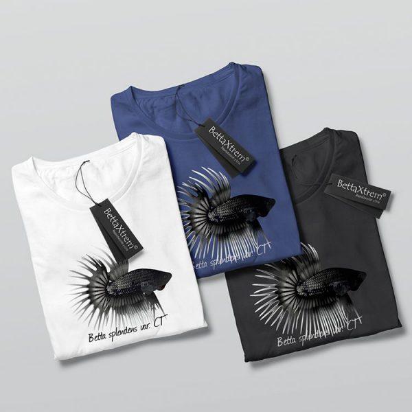 Camisetas de Hombre Betta crowntail