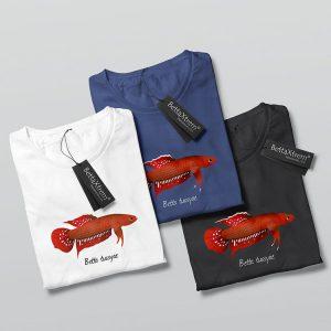 Camisetas de Hombre Betta tussyae