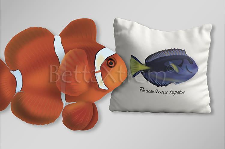 Productos personalizados con ilustraciones de Marino