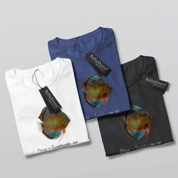 Camisetas de Hombre Discus Symphysodon 2