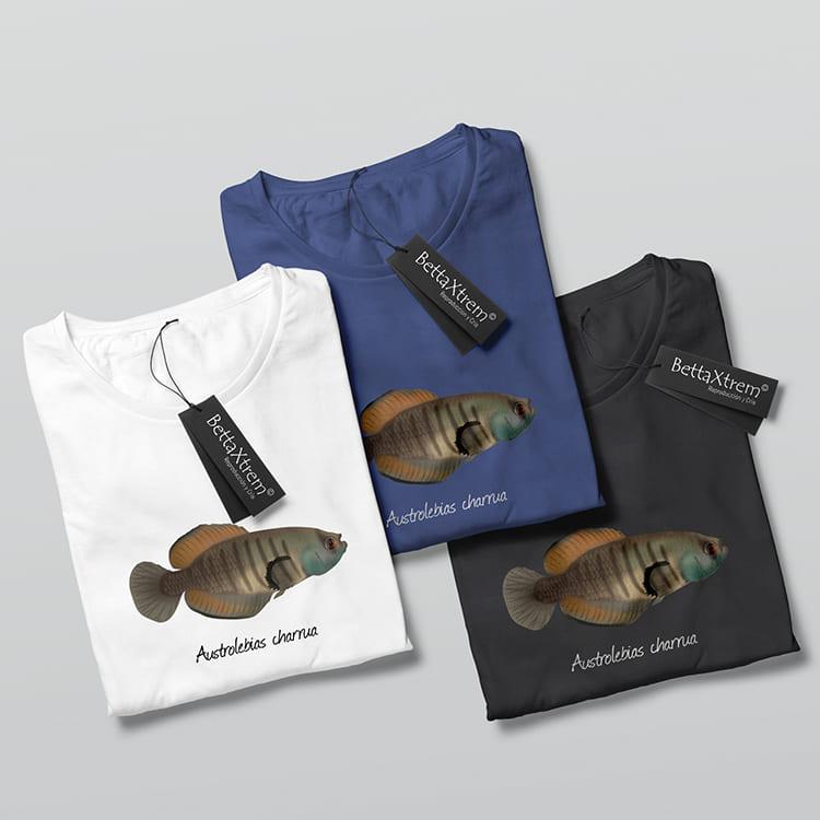 Camisetas de Hombre Killi Austrolebias charrua