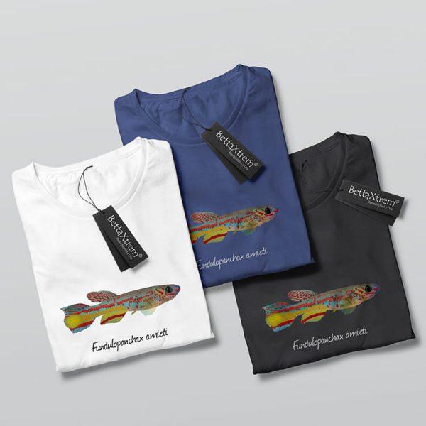 Camisetas de Hombre Killi Fundulopanchax amieti