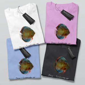 Camisetas de Mujer Discus Symphysodon 2