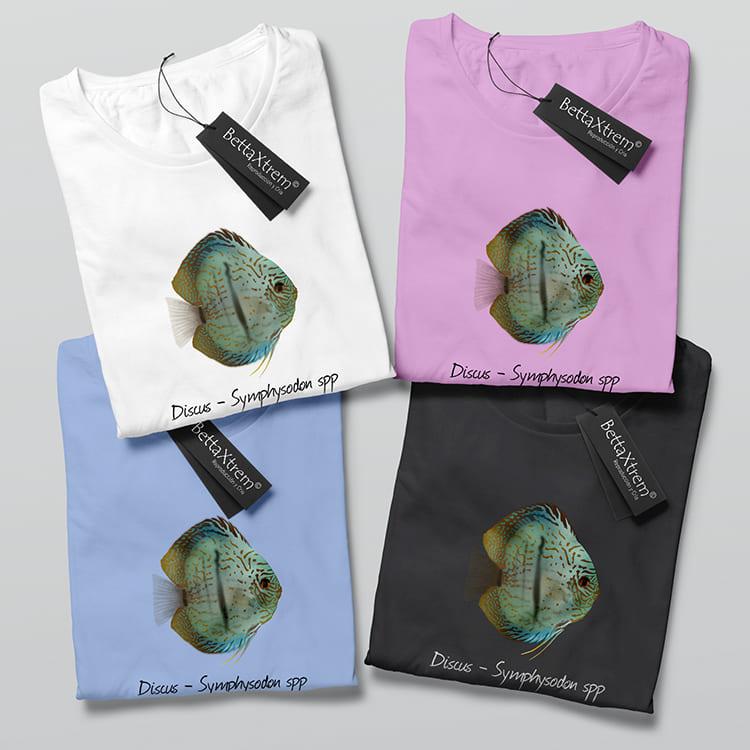 Camisetas de Mujer Discus Symphysodon 3
