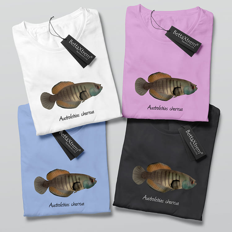 Camisetas de Mujer Killi Austrolebias charrua