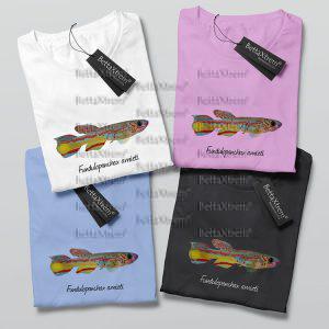 Camisetas de Mujer Killi Fundulopanchax amieti