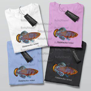 Camisetas de Mujer Killi Nothobranchius rachovii