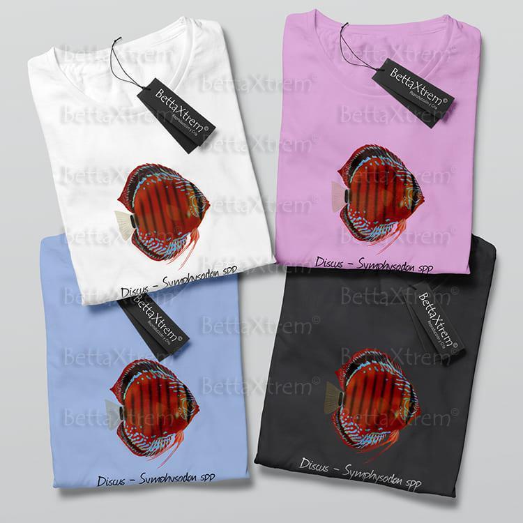 Camisetas de Niño y Niña Discus Symphysodon 1
