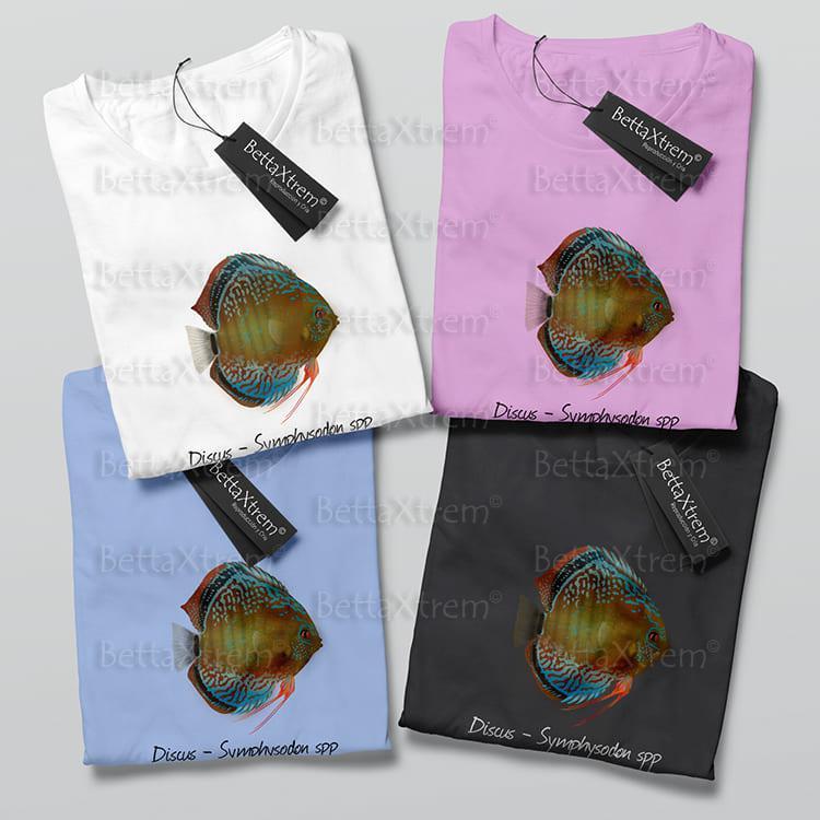 Camisetas de Niño y Niña Discus Symphysodon 2