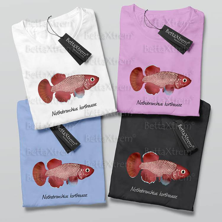 Camisetas de Niño y Niña Killi Nothobranchius korthausae