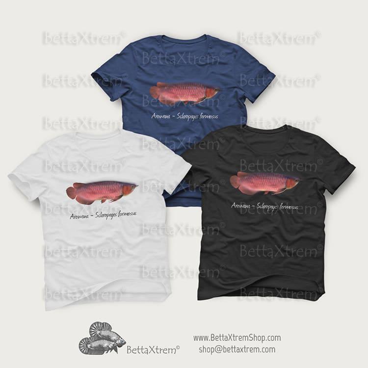 Camisetas de Hombre Arowana - Scleropages formosus 2