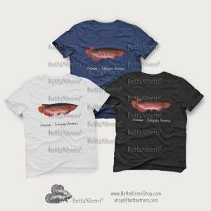 Camisetas de Hombre Arowana - Scleropages formosus 3
