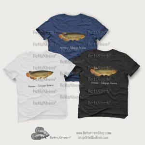 Camisetas de Hombre Arowana - Scleropages formosus 4