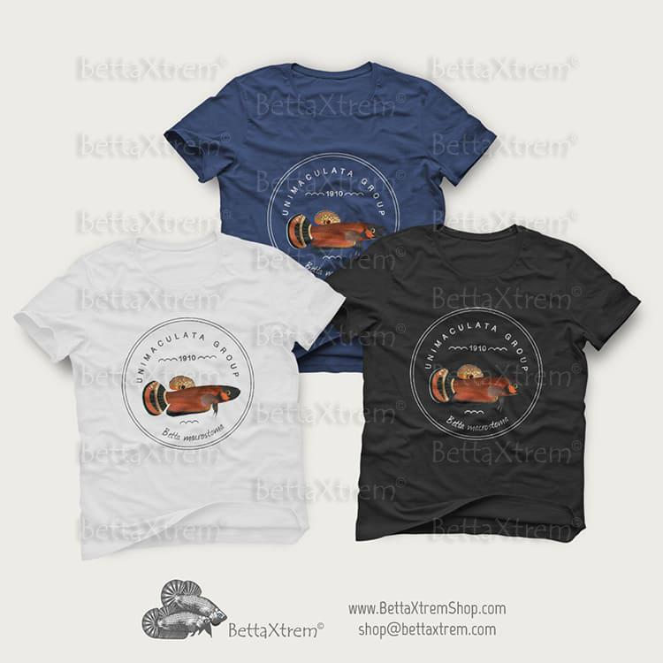 Camisetas Bettas Salvajes