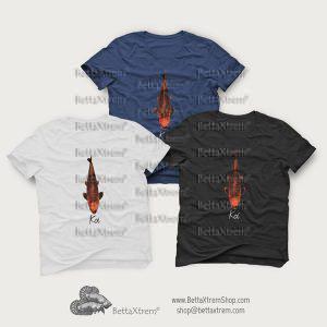 Camisetas de Hombre Carpa Koi 5