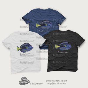 Camisetas de Hombre Paracanthurus hepatus