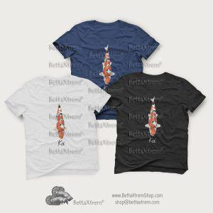 Camisetas de Hombre Carpa Koi 11