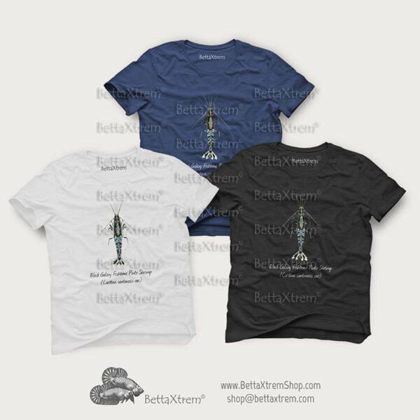 Camisetas de Hombre Gamba Black Galaxy