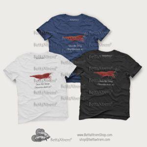 Camisetas de Hombre Gamba Sakura Red