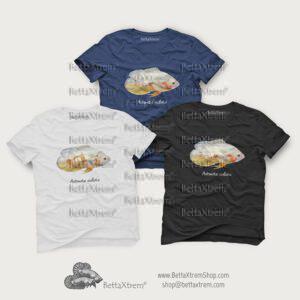 Camisetas de Hombre Astronotus ocellatus albino 2