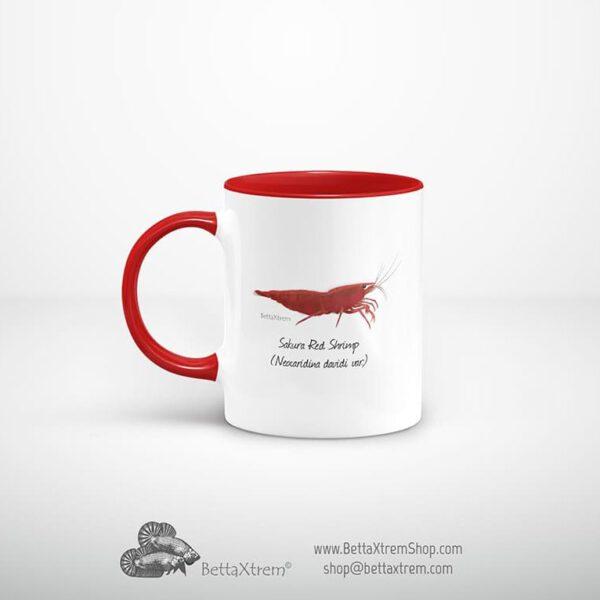 Taza Roja Gamba Sakura Red