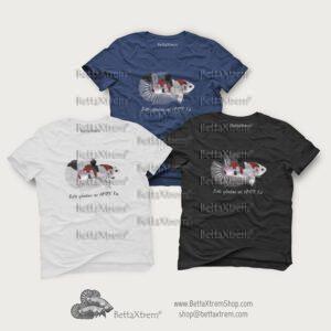 Camisetas de Hombre Betta splendens HMPK koi